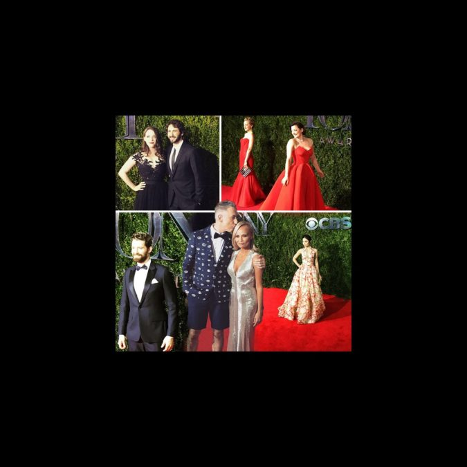 Top Instagram - Tony red carpet - wide - 6/15