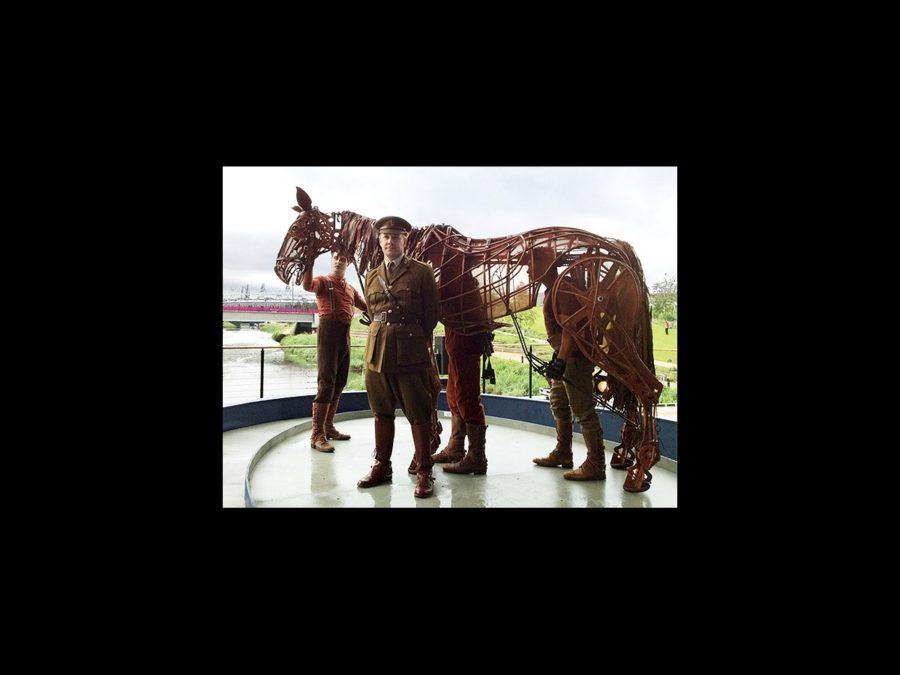Hot Shot - War Horse at Olympic Park