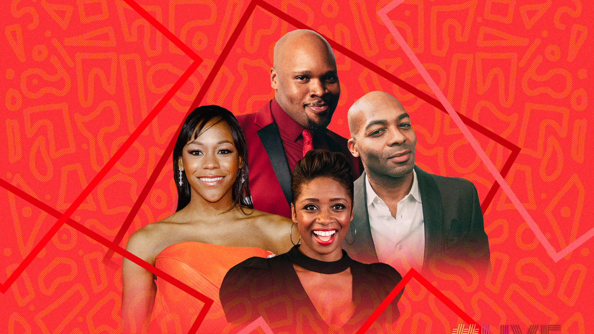 LiveatFive Home Edition RoundTable - Michael James Scott - Nikki M James - Brandon Victor Dixon - Montego Glover - Caitlin McNaney and EMK