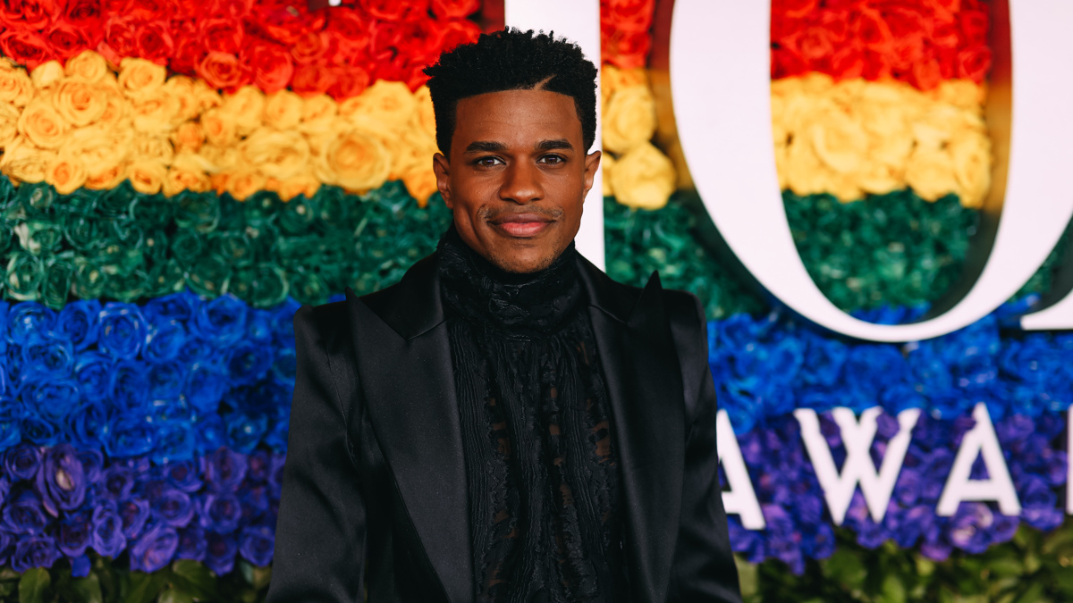 Tony Awards 2019 - Jeremy Pope - Arrivals - Emilio Madrid-Kuser