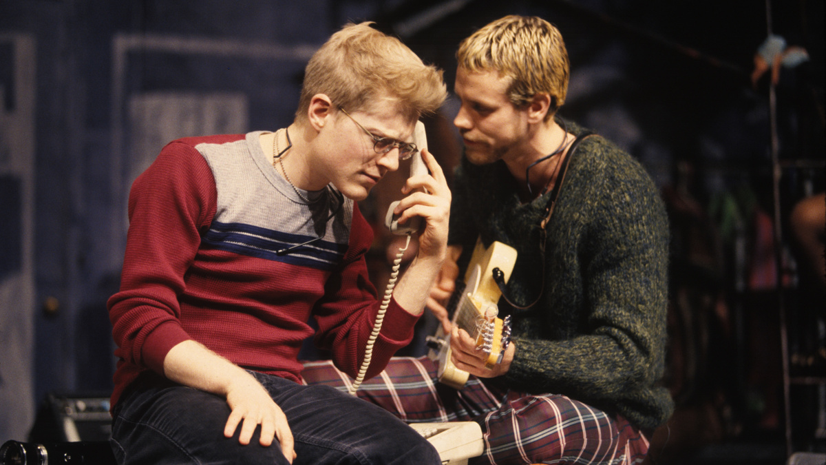PS - Rent - Anthony Rapp - Adam Pascal - 1996 - Joan Marcus