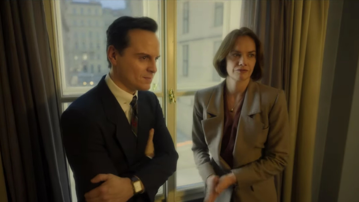 Oslo Movie - Andrew Scott - Ruth Wilson - 4/21 - HBO